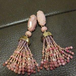 Kendra Scott earrings. Worn once.